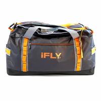 "iFLY Duffel Bag Peak 24"", Black/Orange"