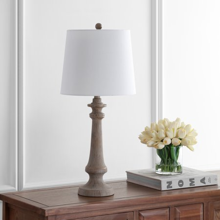 Safavieh Rhett Traditional Rustic 28 in. H Table Lamp, Antique Brown ()