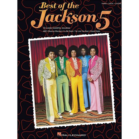 Hal Leonard Jackson 5, Best Of arranged for piano, vocal, and guitar (Best Jackson Guitar For The Money)