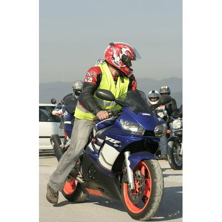 Laminated Poster Motorcycle Vehicle Biker Moto Poster Print 24 X 36