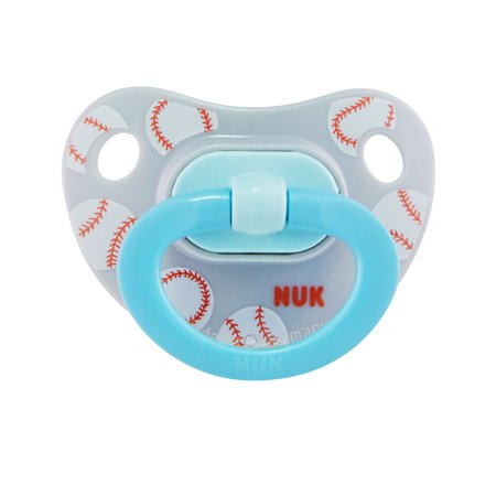 - NUK Sports Orthodontic Pacifiers, Boy, 18-36 Months, 2-Pack