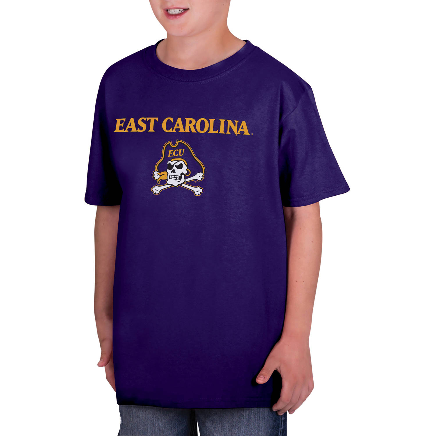 NCAA East Carolina Pirates Boys Classic Cotton T-Shirt