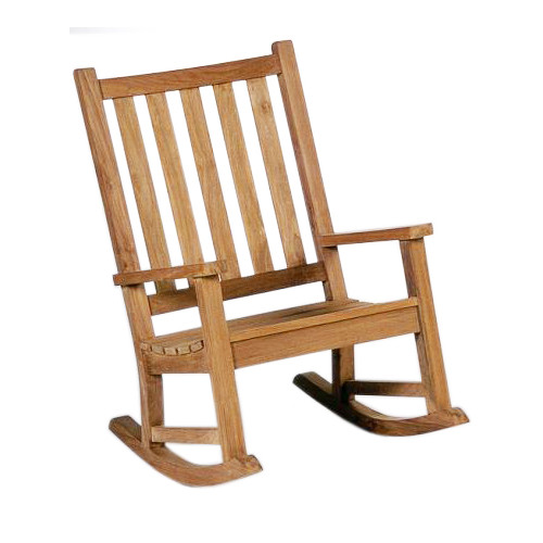 D-Art Collection Teak Rocking Chair
