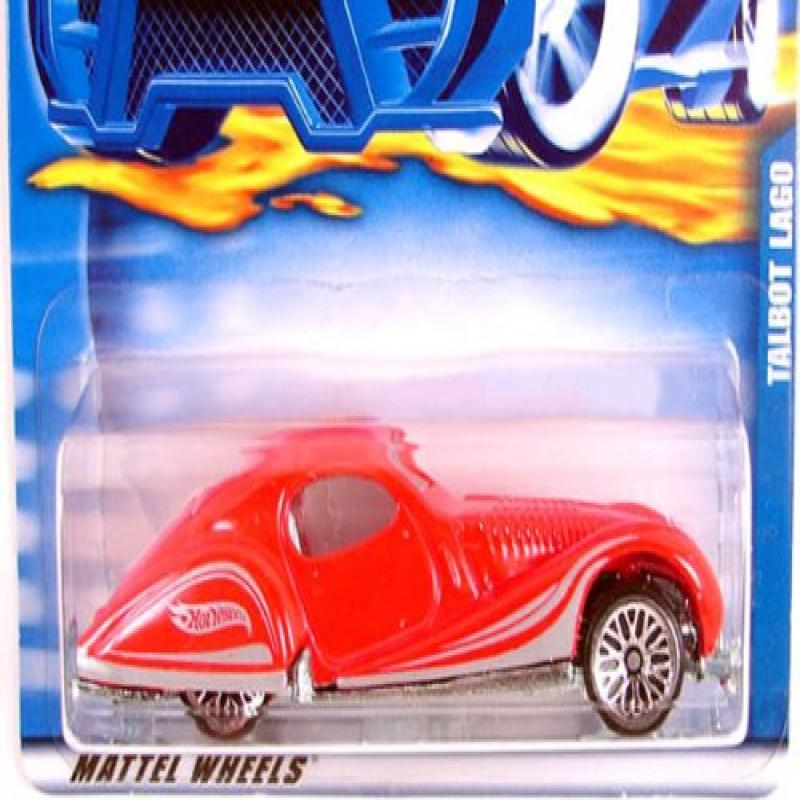 #2001-173 Talbot Lago Collectible Collector Car Mattel Hot Wheels 1:64 Scale by
