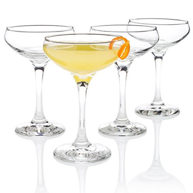 "Algonquin Cocktail Glass (""Entertaining Set"" of 4) by"