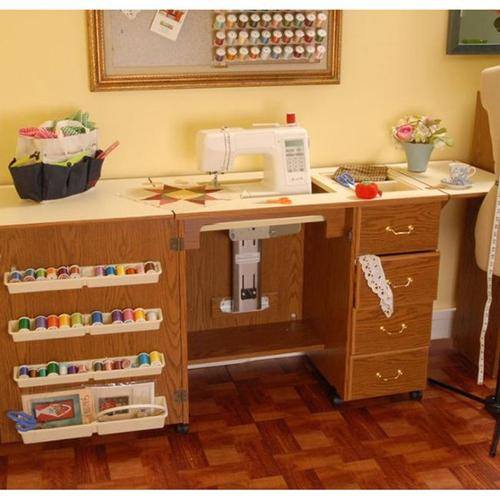 Arrow  'Norma Jean' Crafts & Sewing Machine Table Furniture Storage Cabinet