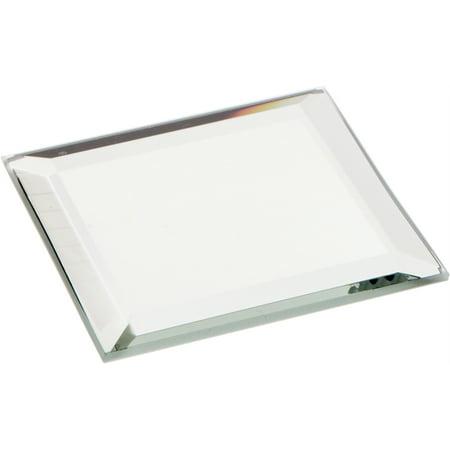 Beveled Glass Mirror, Square 3mm - 2