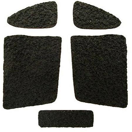 Decal Grip Sand Texture Pistol Grip, Black