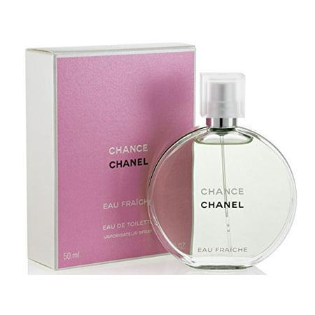 Chânce Chânêl Eau Fraiche Eau De Toilette Spray for Woman, EDT 1.7 Ounce, 50 ML