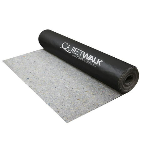 MP Global Products QuietWalk LV 100 Sq Ft Underlayment for Luxury Vinyl (Underlayment For Vinyl Plank Flooring Over Concrete)