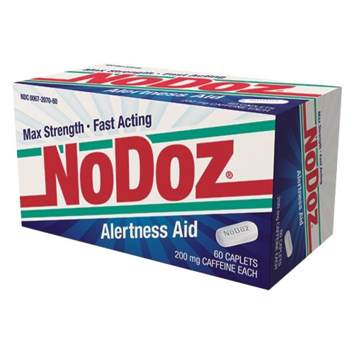 NoDoz Alertness Aid Caplets, 200mg, 60 count