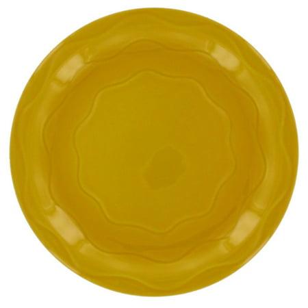 "Syracuse China 903033009 Cantina Saffron 6.25"" Plate - 12 / CS"