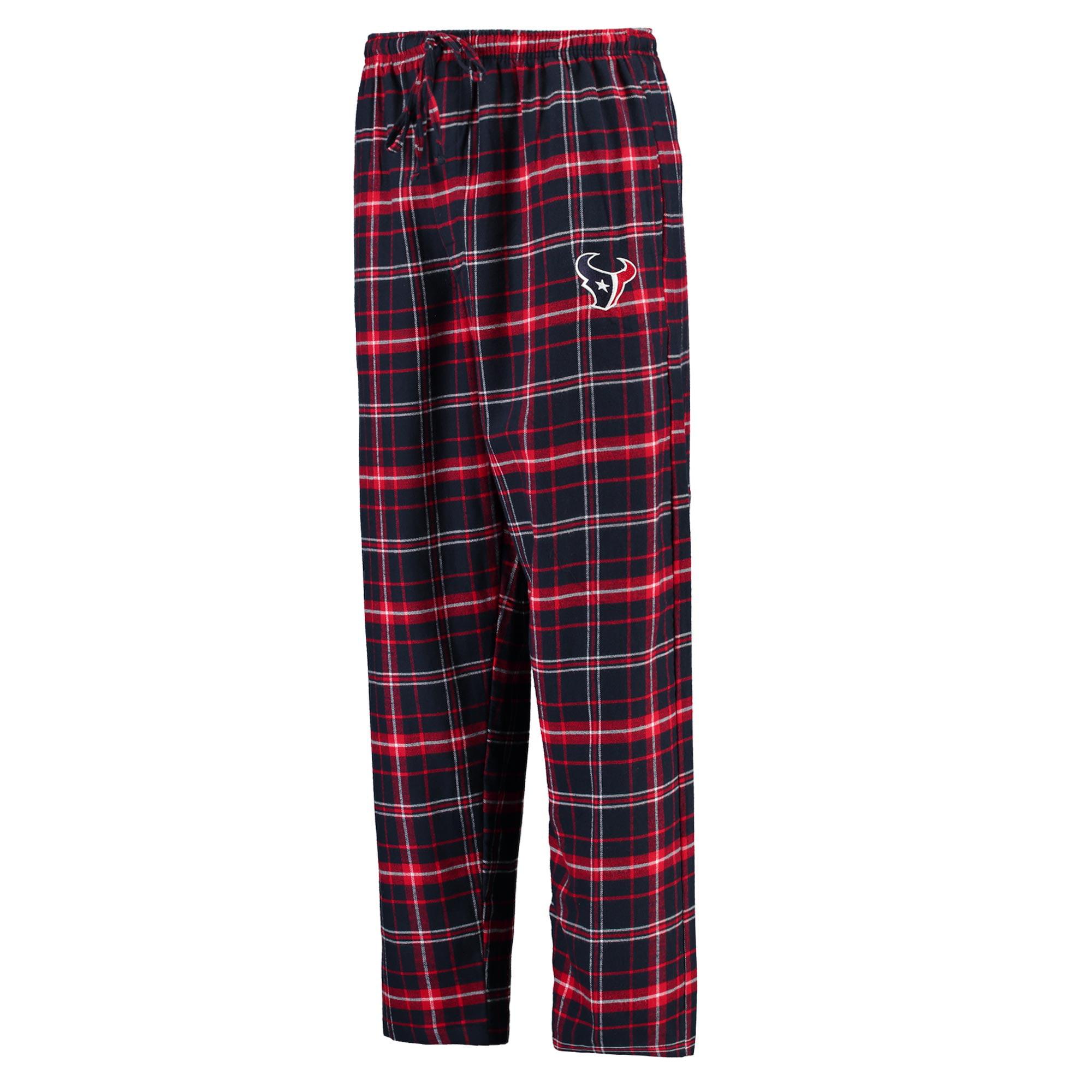 "Houston Texans NFL ""Ultimate Goal"" Men's Flannel Pajama Pants"