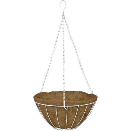CobraCo HGB12-W 12 in. Growers Style Hanging Basket - White