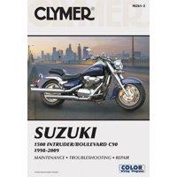 Clymer Color Wiring Diagrams: Clymer Suzuki 1500 Intruder/Boulevard C90, 1998-2009 (Paperback)