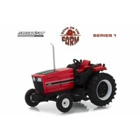1981 International Harvester 3488 Tractor, Red with Black - Greenlight 48010E/48 - 1/64 scale Diecast Model Toy Car