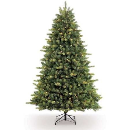 O Tree Company 7 5 Pre Lit Balsam Fir Artificial Christmas With 800 Clear