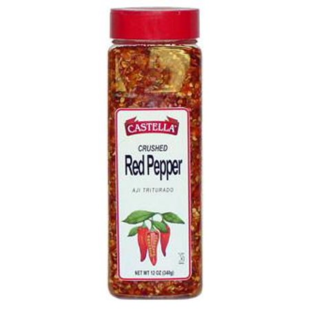 Crushed Red Pepper, 12oz (or (Crushed Sauce)