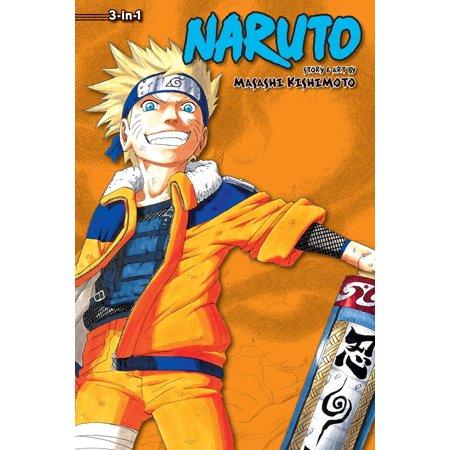 Naruto Outfits (Naruto (3-in-1 Edition), Vol. 4 : Includes vols. 10, 11 &)