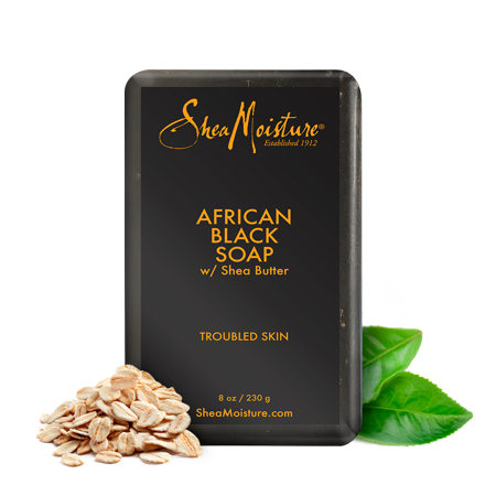 (3 pack) Shea Moisture African Black Bar Soap, 8
