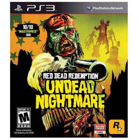 Red Dead Redemption Undead (PS3) - Pre-Owned