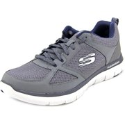 52180 Charcoal Skechers Shoes Men Memory Foam Soft Comfort Sport Run Train Mesh