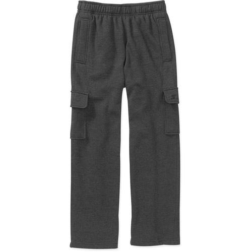 Starter Boys' Fleece Cargo Pants