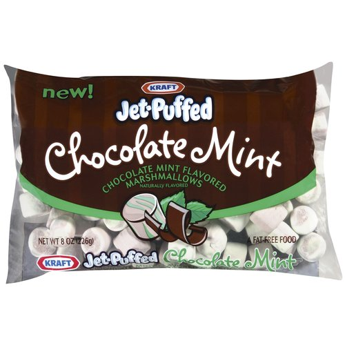 Jet-Puffed Chocolate Mint Marshmallows, 8 oz