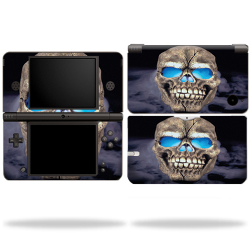 Mightyskins Protective Vinyl Skin Decal Cover for Nintendo DSi XL wrap sticker skins Psycho Skull