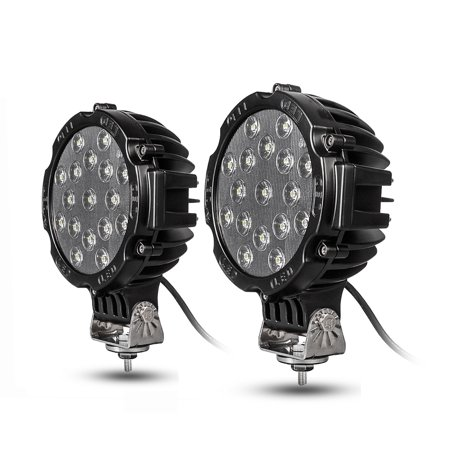 Yitamotor Off Road Led Lights Spot 2Pcs 7
