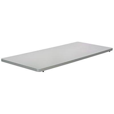 safco impromptu mobile training table rectangle top 48 by 24-inch, grey