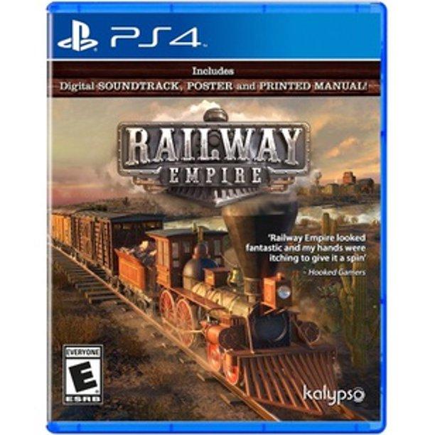 Railway Empire Kalypso Media Usa Playstation 4 848466001045