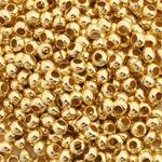 - 2X2 mm Gold Plated Crimp Beads EZX0414 Sold 200pcs/bag