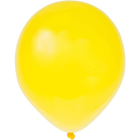 Pearlized Latex Balloons, 12 in, Cajun Yellow, 50ct](Pearlized Balloons)