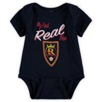 Real Salt Lake Newborn & Infant My New First Bodysuit - Navy