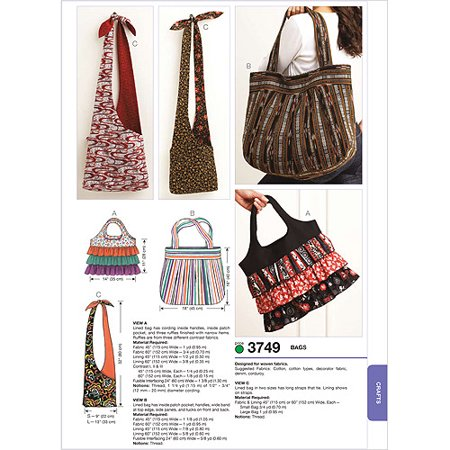 Kwik Sew Pattern Bags