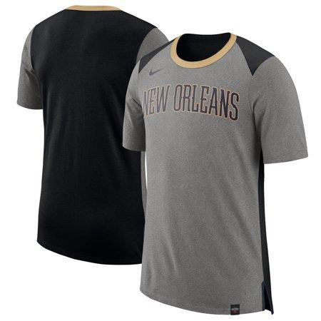 New Orleans Pelicans Nike Basketball Fan T-Shirt - Gray - Nike Basketball Fan Gear