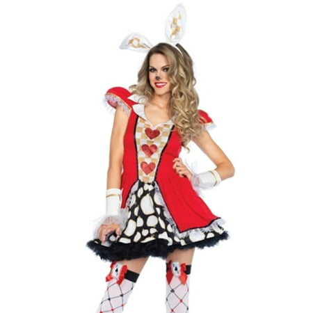Leg Avenue Women's Tick Tock Wonderland White Rabbit Costume