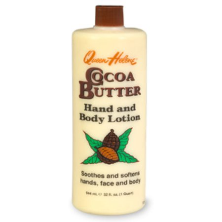 QUEEN HELENE Cocoa Butter Hand and Body Lotion 32 oz (Pack of (Queen Helene Cocoa Butter Lotion On Hair)