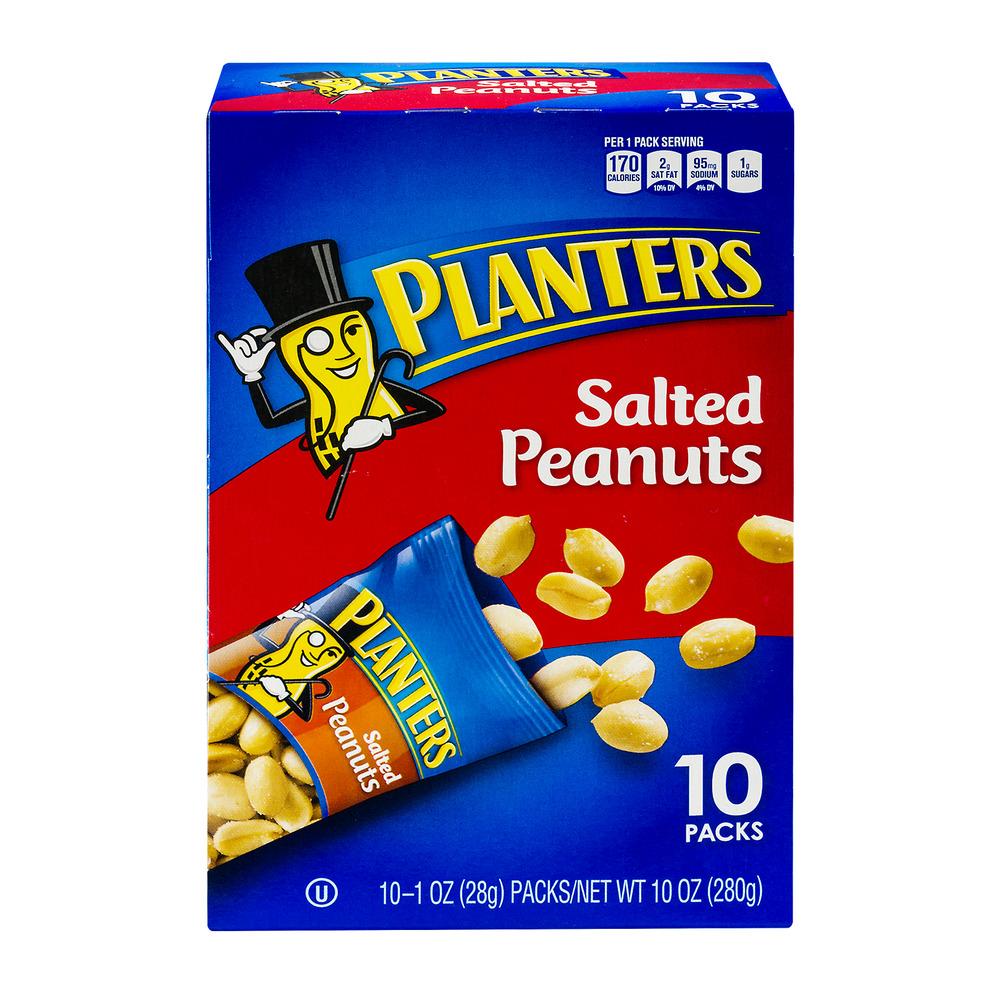 Planters Salted Peanuts - 10 CT