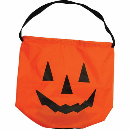 Nylon Pumpkin Bag Child Accessory