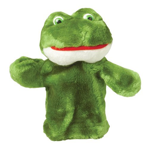 CP Toys Forest Friends Plush Hand Puppet Frog