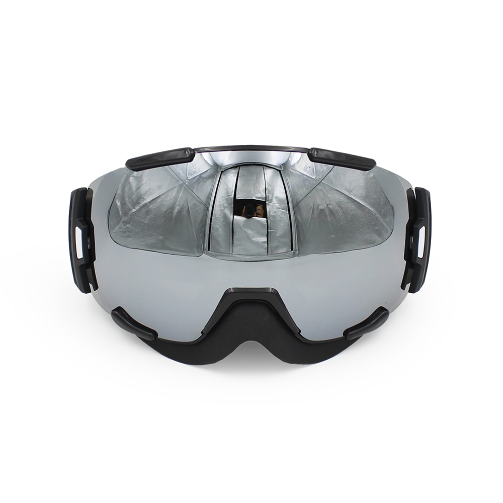 Ediors Windproof Snowmobile Ski Goggles for Men & Women Dual Anti-fog,Anti-UV Lens by Ediors