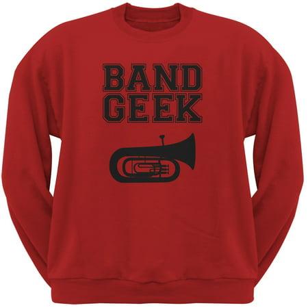 Band Geek Tuba Red Adult - Adult Toys Tulsa