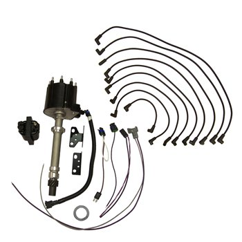 Ignition, Distributor Kit GM V8 Delco EST w/Wires & Coil