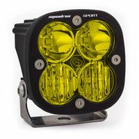 Baja Designs LED Light Pod Driving Combo Pattern Amber Black Squadron Sport 550013