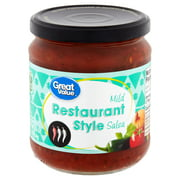 Great Value Mild Restaurant Style Salsa, 16 oz