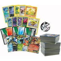 300 Assorted Pokemon Card Lot - Gotta Catch 'Em All Collection! Features EX or MEGA, Rares, Foils, Holos, Energy, Online Codes, and Pokemon Coin!