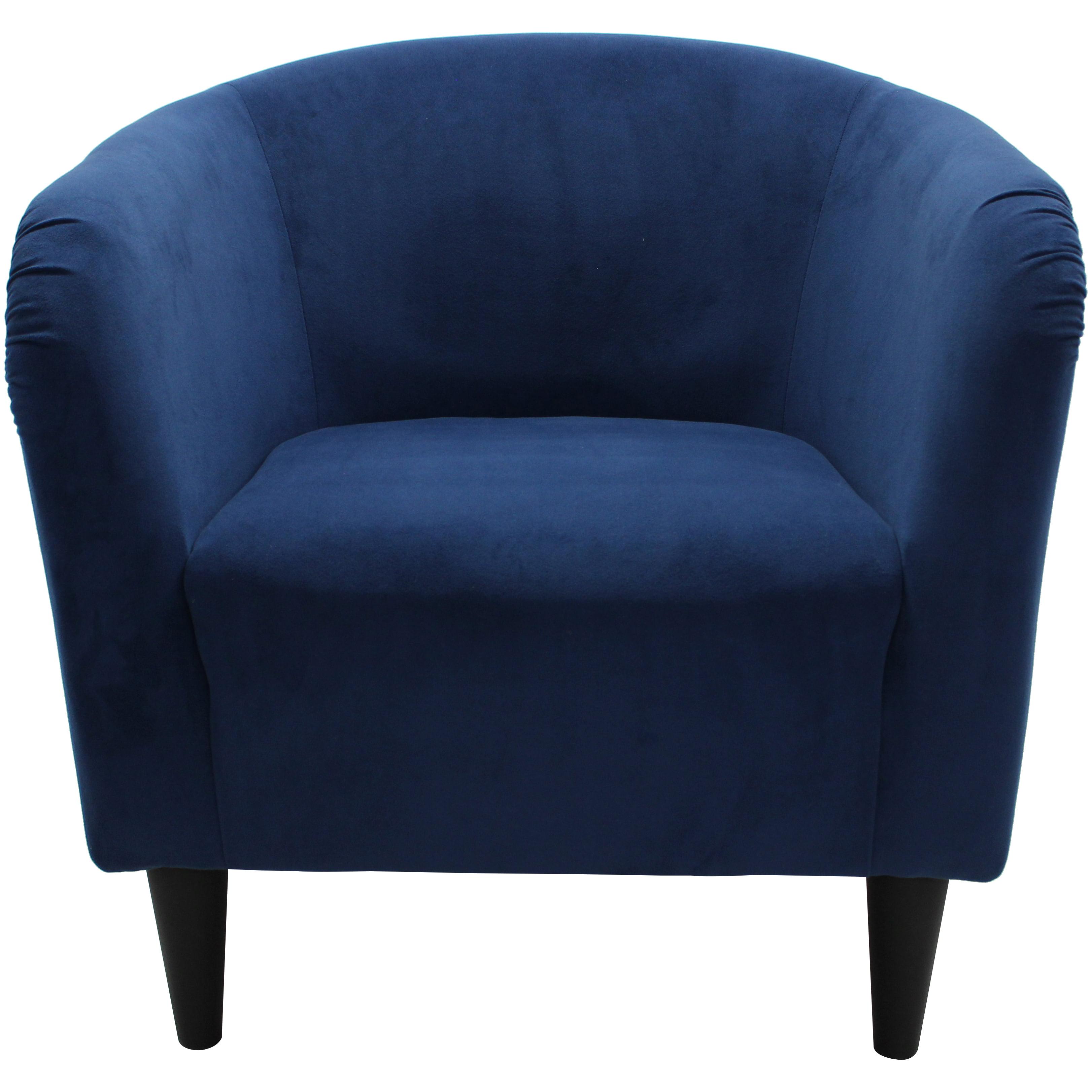 Mainstays Microfiber Tub Accent Chair - Walmart.com
