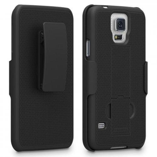 PureGear Protective Holster Kickstand Cell Phone Case - Samsung Galaxy S5